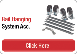 Rail Hanging System Accessories